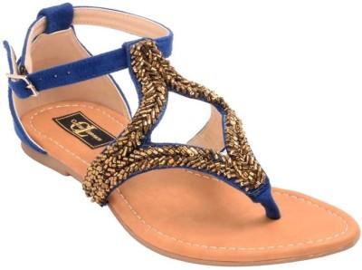 Claude Lorrain Women Blue Flats