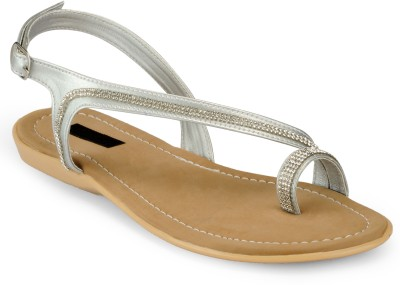Something Different Women Beige, Grey Flats