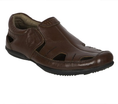 ROSA ROSSI Boys Tan Sandals