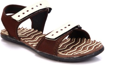 Laila Collections 818 Women Brown Sports Sandals