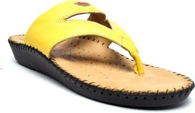 Canthari Ortho Women Yellow Flats