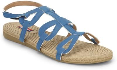 American Swan Women Blue Flats