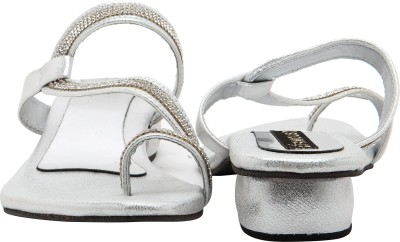 Royal Collection Women Silver Heels