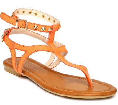 Roadster Women Orange Flats