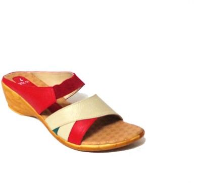 Candybox Women Red Wedges
