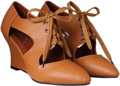 20Dresses Women Brown Wedges