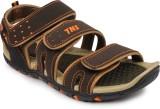 Tennis Men Orange Sandals