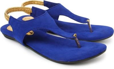 Urban Woods 661-9118-Blue Women Blue Flats