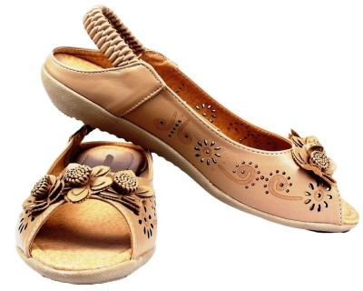 AALISHAN Women Khaki Flats