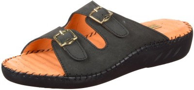 Rover Women Black Flats