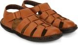 Provogue Men Tan Sports Sandals