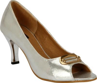 Welson Women Silver Heels