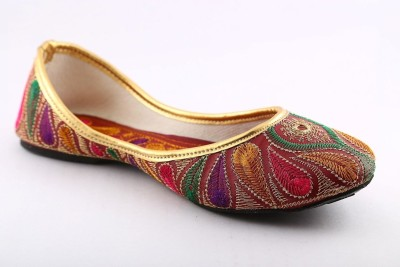 Cenizas Ethnic Jardoshi Women Multicolor Flats