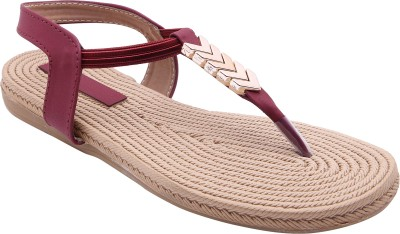 Royal Collection Women Red Flats