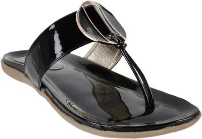 Touch Walk Women Black Flats