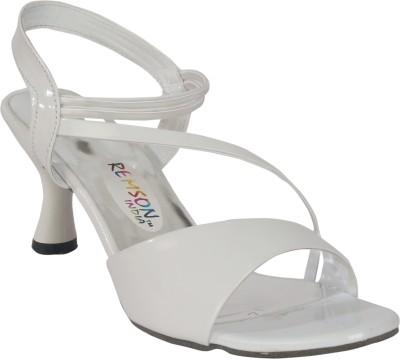 Remson India Women White Heels