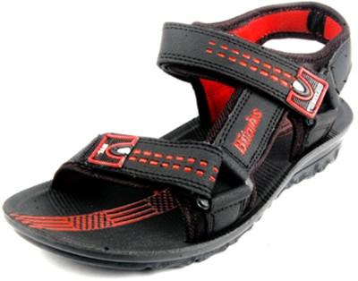 Hitcolus Hitcolus Black/Red Sandal Men Red, Black Sandals