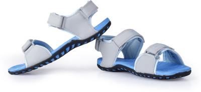 Elligator Women Blue Sports Sandals
