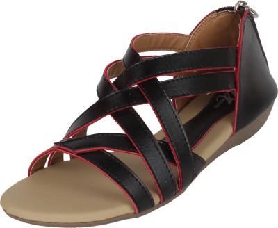 Omnesta Women Black Flats