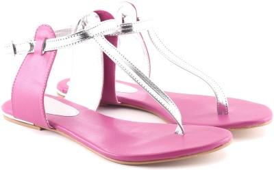 Cenizas Golden Pie Women Pink Flats