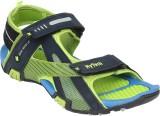 Hytech Men Blue,Green Sandals