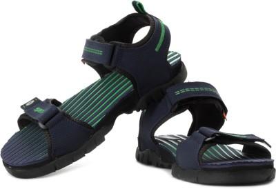 Sparx Men Navy, Green Sandals