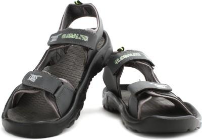 Globalite Wave Men Green, Grey Sports Sandals
