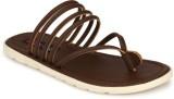 Footlodge Men Brown Sandals
