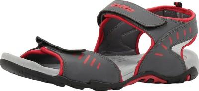 Lotto Men Grey, Red Sandals