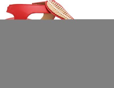 Selfie Women Red Flats