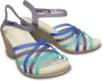 Crocs Women Blue Wedges