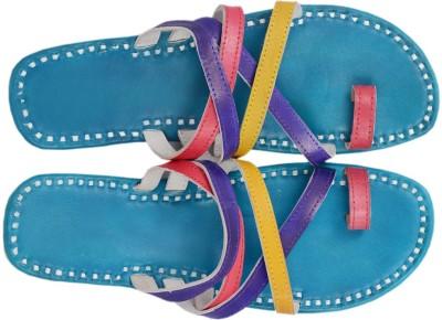 Paavdi Women Multicolor Flats