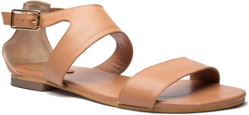 Tedish Women Brown Flats