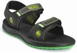 Frestol Men Black,Green Sandals