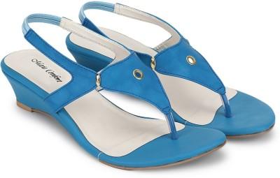 Marie Comfort Women Blue Heels