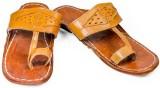 Chogaji Men Tan Sandals