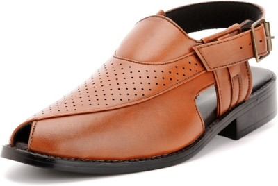 Bruno Manetti Men Tan Sandals