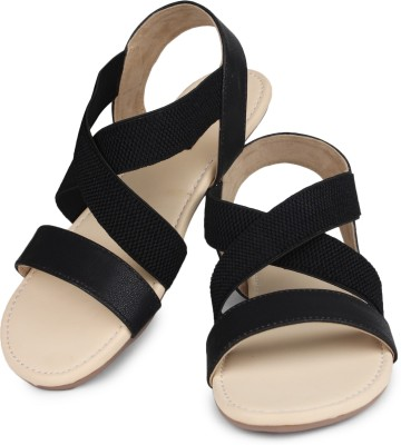 Shoetopia Women Black Flats