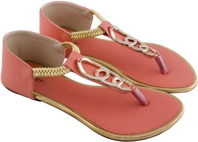 Mod-Inn Women Pink Flats