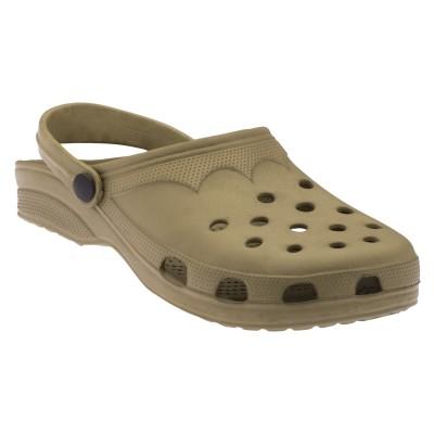 Footista Men Brown Clogs