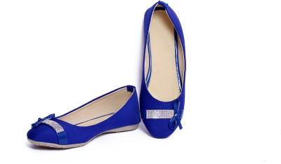 Pu-Aees Girls Blue Sandals