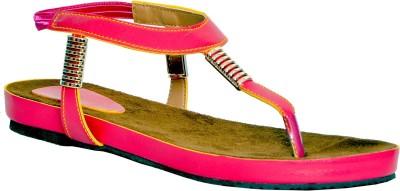 FatDuck Women Pink Flats