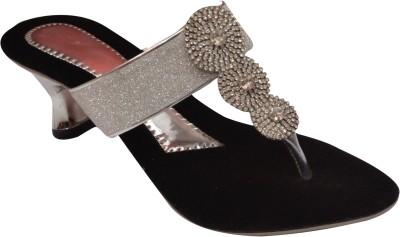 Coblivi Women Silver Heels