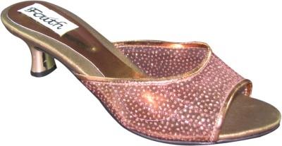 Faith 1000858 Women Pink, Gold Heels