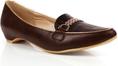 INTOTO Women Brown Wedges