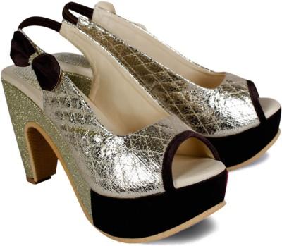 Dezire Women Brown Heels
