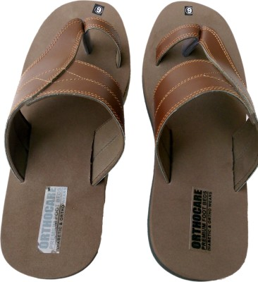 Ortho Care+ Men Brown Sandals