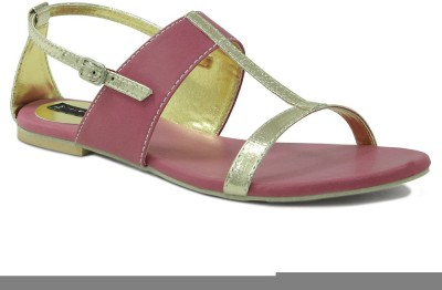 Get Glamr Women Pink Flats