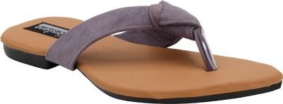 Versiliana Women Grey Flats