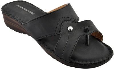 Bootwale Women Black Flats
